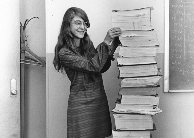Margaret Hamilton with my top ten books of 2019